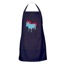 pawprints Apron (dark)