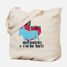 pawprints3 Tote Bag