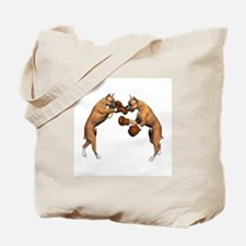 Boxer Dogs Boxing Tote Bag