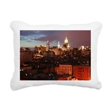 Empire State Building Ni Rectangular Canvas Pillow