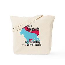 pawprints3 Tote Bag