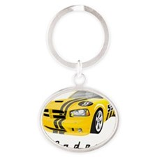 Caden car Oval Keychain