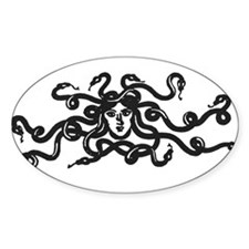 Medusa Oval Decal