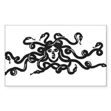 Medusa Rectangle Decal