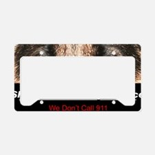 security License Plate Holder
