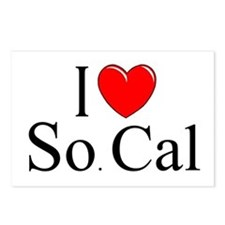 """""""I Love So. Cal"""" Postcards (Package of 8)"""