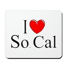 """I Love So. Cal"" Mousepad"