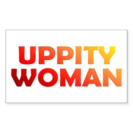 UPPITY Rectangle Sticker