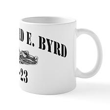 rebyrd black letters Mug