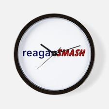 Reagan Smash Wall Clock