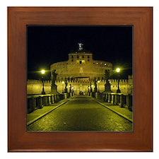 sant angelo by night Framed Tile