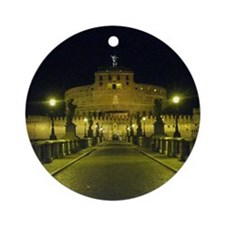 sant angelo by night Round Ornament