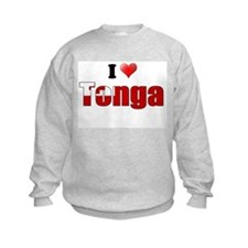 I love Tonga Sweatshirt