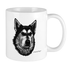 Happiness is an Alaskan Malamute Mug