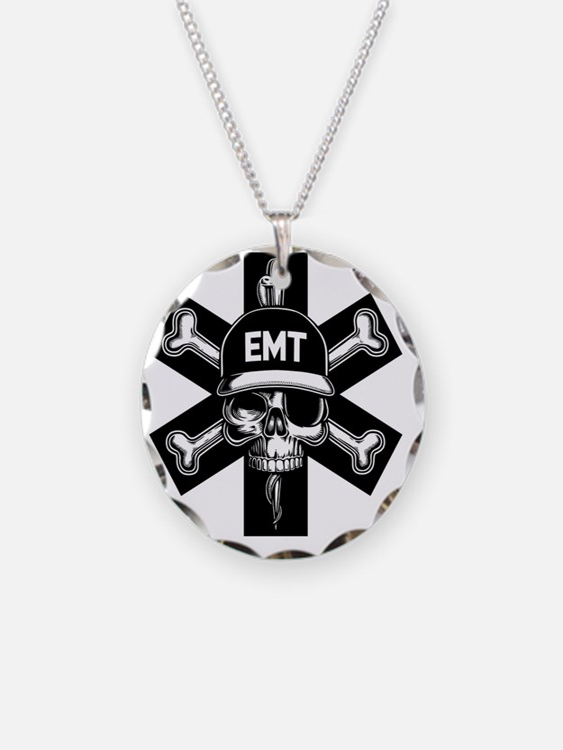 emt-skull-T Necklace