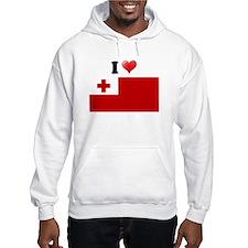 I love Tonga Flag Hoodie