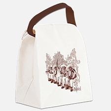 Mexican Mariachis Canvas Lunch Bag