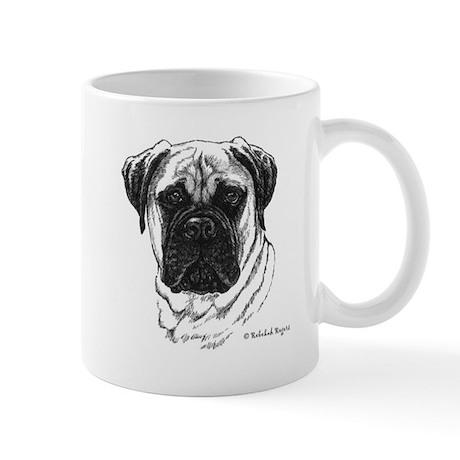 Happiness is a Bullmastiff Mug