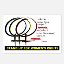 WOMENS RIGHTS Postcards (Package of 8)
