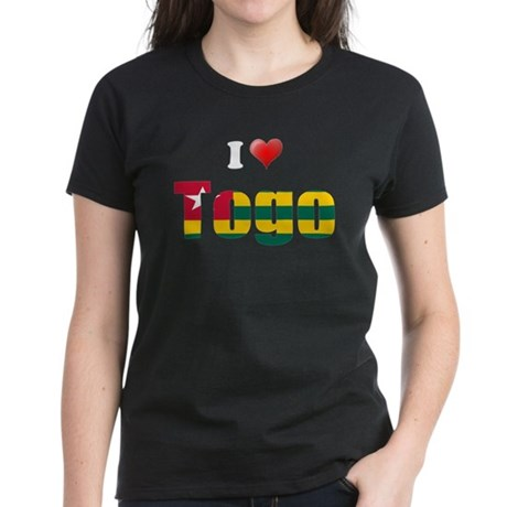 I love Togo Women's Dark T-Shirt