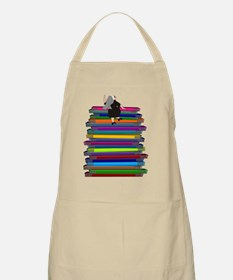 book stack nun LARGEST Apron