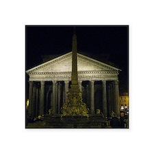 "pantheon by night Square Sticker 3"" x 3"""