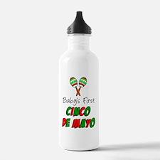 Babys 1st Cinco De May Water Bottle