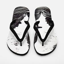 relee large framed print Flip Flops