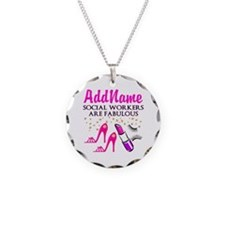 #1 SOCIAL WORKER Necklace