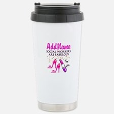 #1 SOCIAL WORKER Stainless Steel Travel Mug