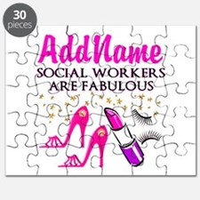#1 SOCIAL WORKER Puzzle