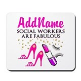 Social worker Mouse Pads