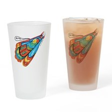10x10_apparel_retro Drinking Glass