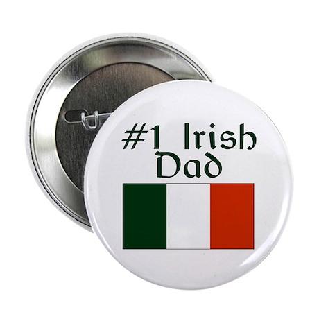 "#1 Irish Dad 2.25"" Button"