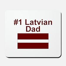 #1 Latvian Dad Mousepad
