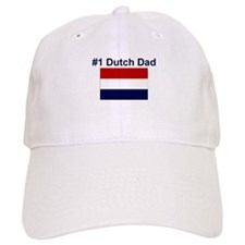 #1 Dutch Dad Baseball Cap