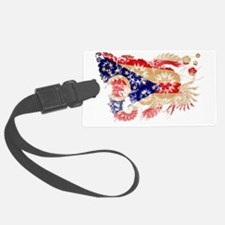 Ohio textured flower Luggage Tag