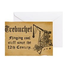 trebuchet FINAL Greeting Card