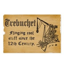 trebuchet FINAL Postcards (Package of 8)