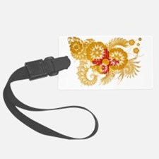 New Mexico textured flower Luggage Tag