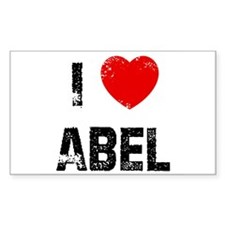 I * Abel Rectangle Decal