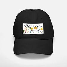 Tribal dance_white Baseball Hat