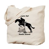 Eyes up heels down Canvas Bags