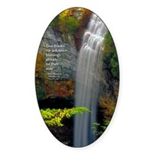 Waterfall Blessings Decal