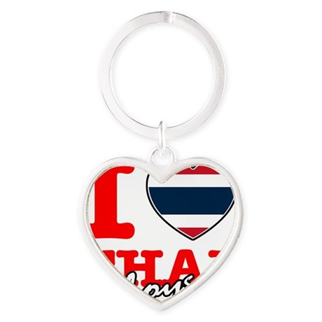 thai Heart Keychain