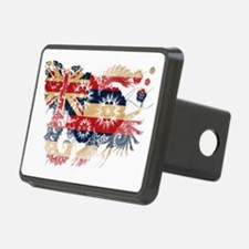 Hawaii textured flower Hitch Cover