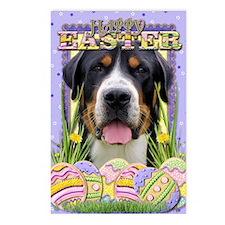 EasterEggCookiesGreaterSw Postcards (Package of 8)