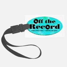 Off the Record_Cafe Luggage Tag