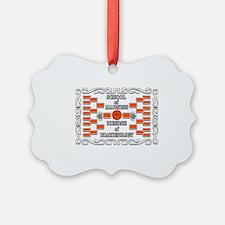 2012 School of madness dr of brak Ornament