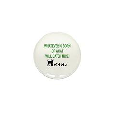 Mouse Catcher Mini Button (100 pack)
